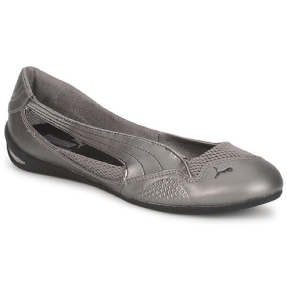 GUC Puma Winning Diva Ballerina Slip on Sneakers